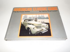 American Classic Cars : The Survivors Series (Rasmussen 1977 ) SIGNED